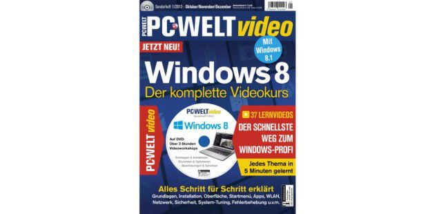PC-WELT video Windows 8 - Der komplette Videokurs