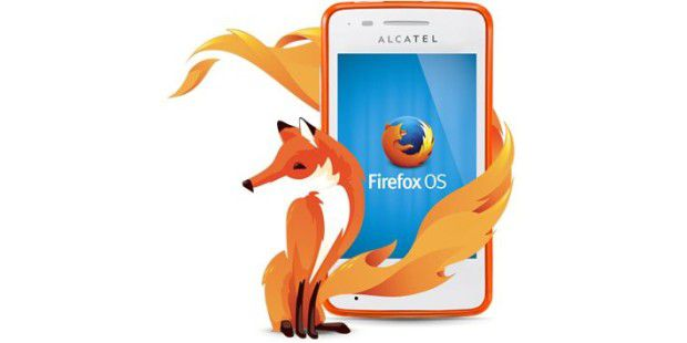 Alcatel One Touch Fire mit Firefox OS