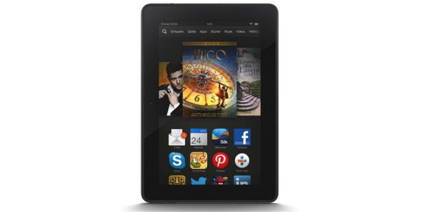 Amazon Kindle Fire HDX - im Bild: die 7-Zoll-Version