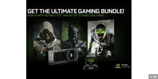 """Pirates, Heroes and Spies""-Spiele-Bundle von Nvidia."