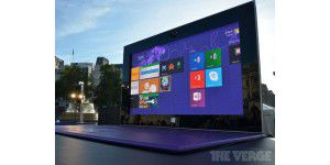 Microsoft wirbt mit 383 Zoll Surface-Tablet in London
