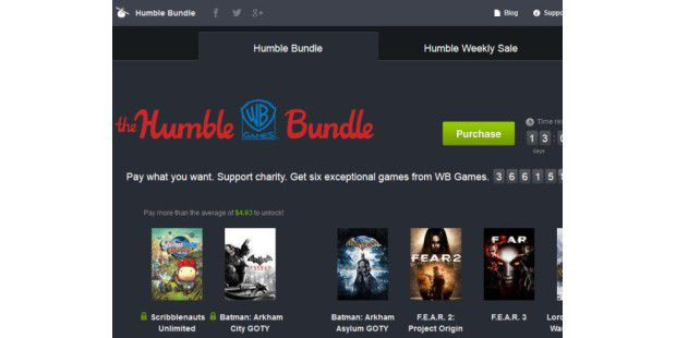 "The Humble ""WB Games"" Bundle"