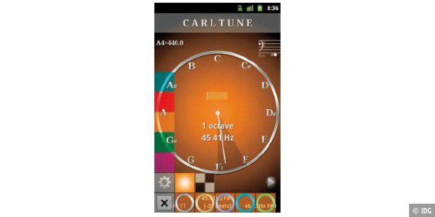 Carl Tune – Chromatic Tuner von Brainting.