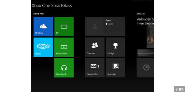 Xbox One Smartglass