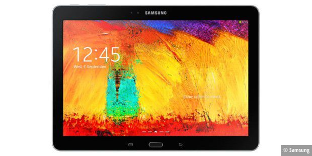 Top-Tablet von Samsung: Galaxy Note 10.1 2014 im Test