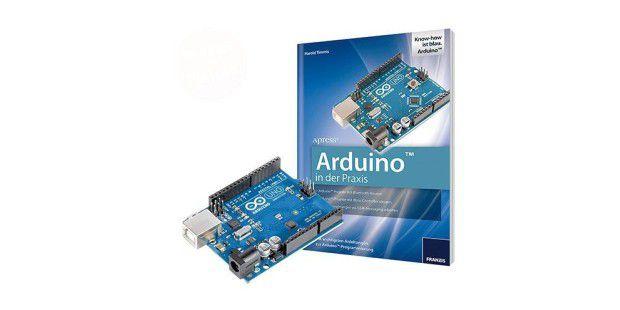 Arduino in der Praxis + Original Arduino-Uno-Platine