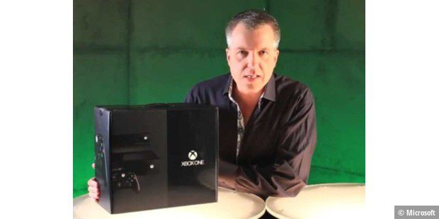 Xbox One im ersten Unboxing-Video