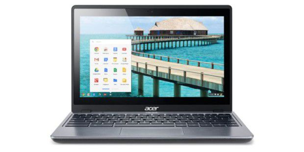 Chromebook mit Touchscreen: Acer C720P