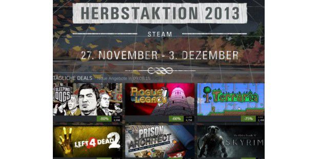Steam Herbstaktion 2013