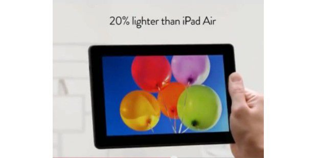 Anti-iPad-Air-Clip von Amazon
