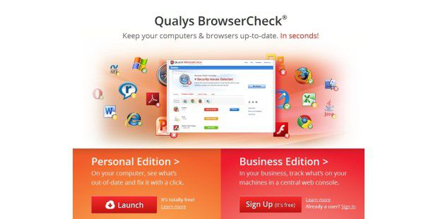 Qualys BrowserCheck.
