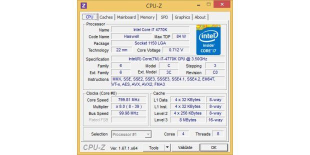 Intel-Haswell-CPU im Detail.