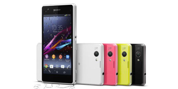 In 4 Farben erhältlich: Sony Xperia Z1 Compact