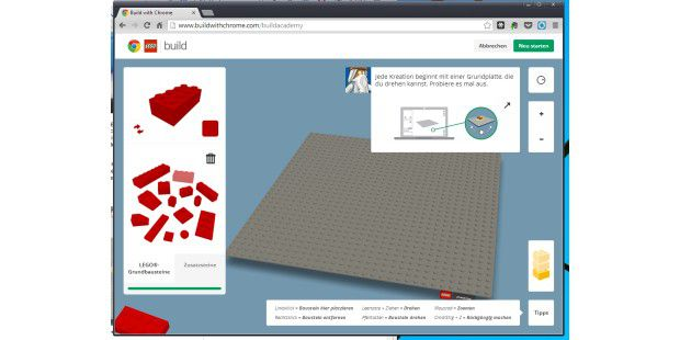 Build Academy auf Buildwithchrome.com