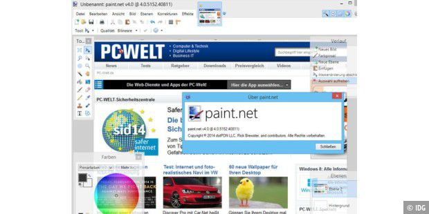 Paint.Net 4.0 Beta 5152