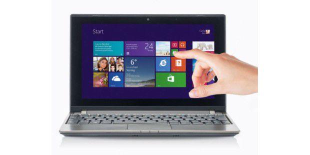 Netbook mit Touchscreen zum günstigen Preis bei Aldi:Medion Akoya E1318T