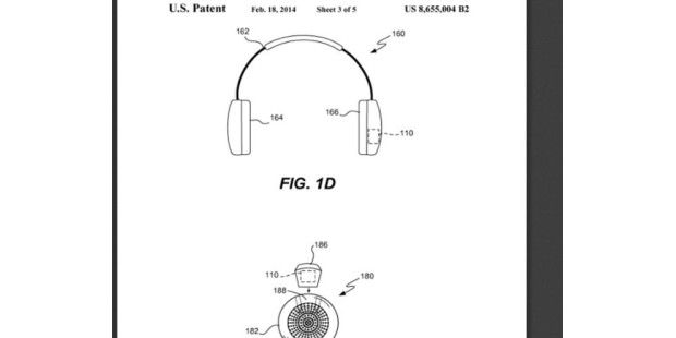 "Apple-Patent ""Sports monitoring system for headphones, earbuds and/or headsets"""