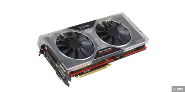 Die EVGA Geforce GTX 780 Ti Classified Kingpin Edition