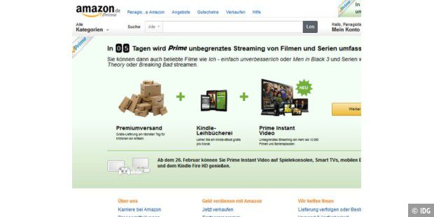 Amazon Prime wird ab dem 26.2. attraktiver