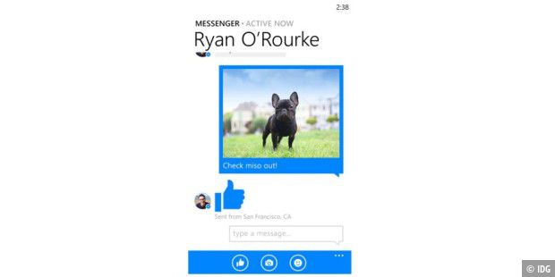 Facebook Messenger für Windows Phone