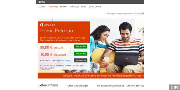 Office 365 Home Premium erhält Zuwachs durch Office 365 Personal
