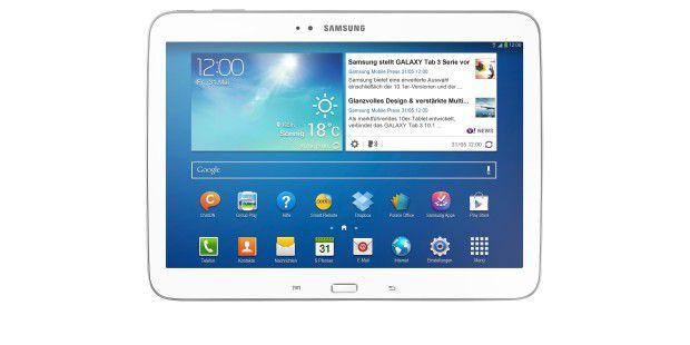 Kostet auch mit 3G weniger als 300 Euro: Samsung GalaxyTab 3 10.1