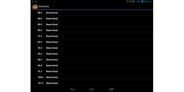Tablet-Radio: Das Archos 79 Xenon empfängt auchUKW