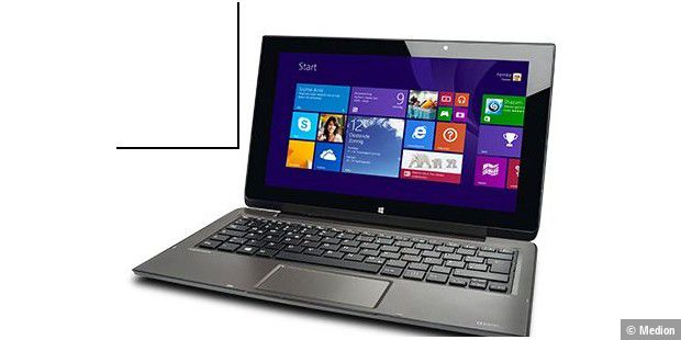 Touch-Notebook mit Windows 8.1 bei Aldi Nord