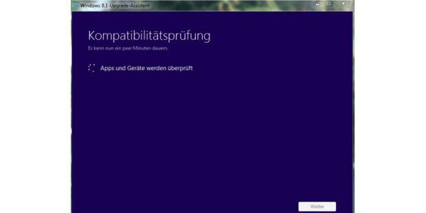 Windows 8.1-Upgrade-Assistent