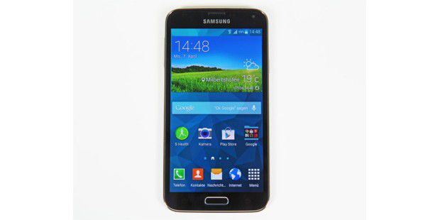 Super-Phone Samsung Galaxy S5 im Test