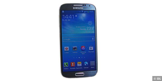 Highend satt: Samsung Galaxy S4 im Test