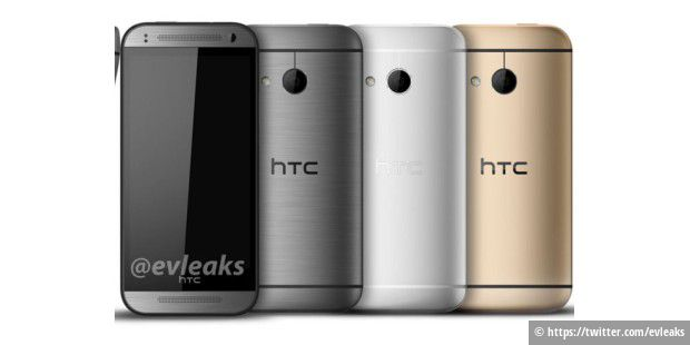 HTC One mini 2  (Quelle: https://twitter.com/evleaks)