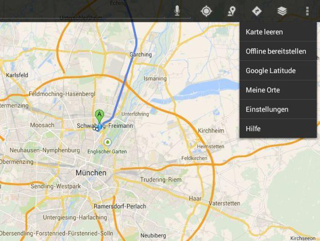 google maps verbesserte stau umfahrung und offline karten pc welt. Black Bedroom Furniture Sets. Home Design Ideas