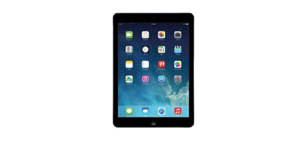 Eleganter Flachmann: iOS-Tablet Apple iPad Air im Test