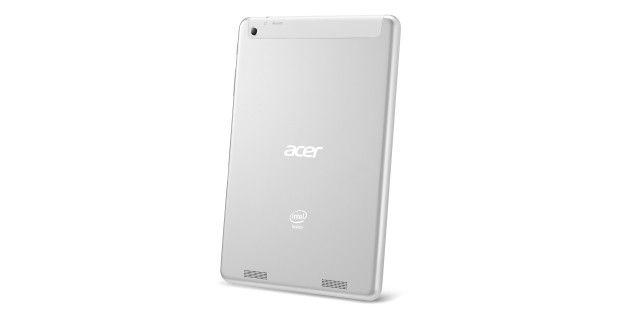 Das Acer-Tablet sitzt in einem stabilen Gehäuse