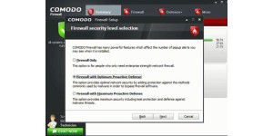 Freeware Firewall: Comodo Firewall