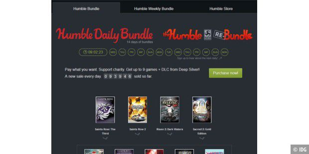 Aktuelles Humble Daily Bundle