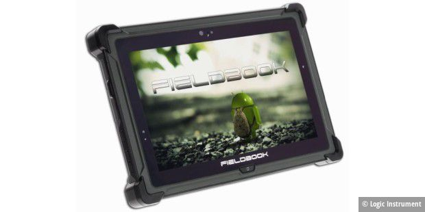 Ruggedized-Tablet Fieldbook E1 von Logic Instrument im Test