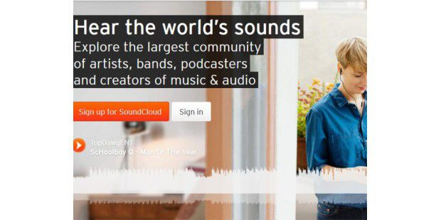 Twitter hat angeblich Interesse an SoundCloud
