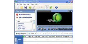 Screen-Capture-Tool: Camtasia Studio