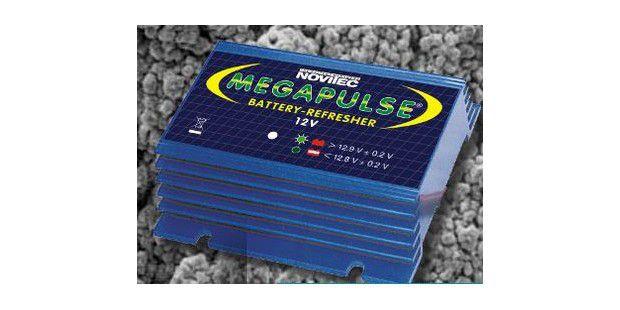 Der Megapulse soll bereits angeschlagene Batterie wiederbeleben und noch intakte Batterie länger fit bleiben lassen.