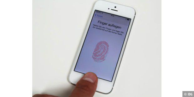 Touch ID beim iPhone 5s