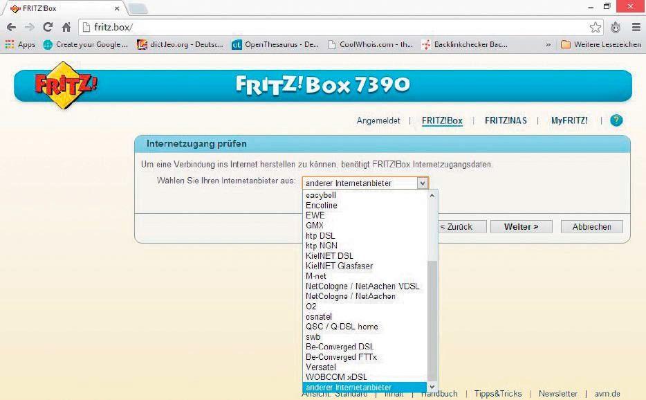 fritzbox tutorial so richten sie den router ein pc welt. Black Bedroom Furniture Sets. Home Design Ideas