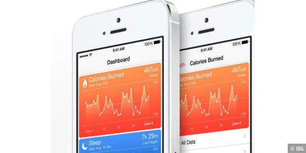 Neue App Health in iOS 8