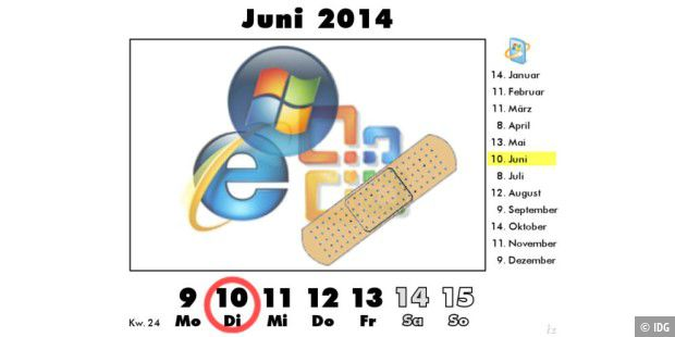 Patch Day am 10. Juni 2014
