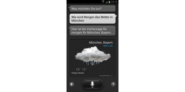 Samsung Galaxy S3: S Voice ist gut, aber nochverbesserungswürdig.