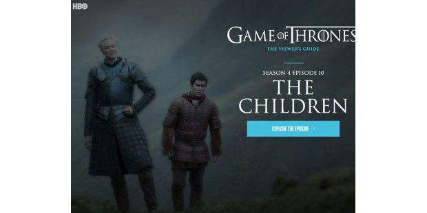 Game of Thrones: Staffel 4 endete mit der Folge The Children