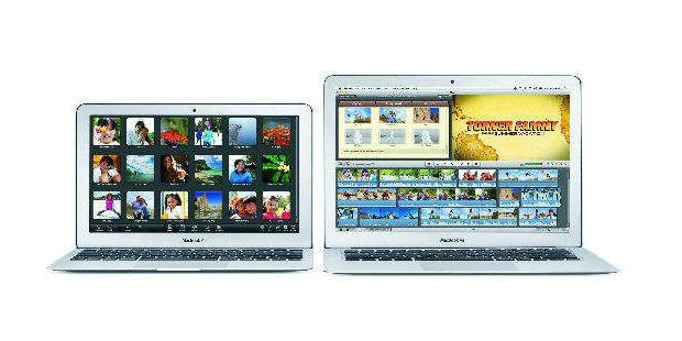 Leichte Notebooks Apple Macbook Air