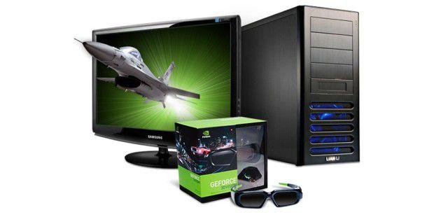 Derzeit bietet Nvidia mit 3D Vision (mittlerweile schon inVersion 2) das schönste 3D-Gaming-Erlebnis. AMD dürfte seine LösungHD3D jedoch bald verbessern.