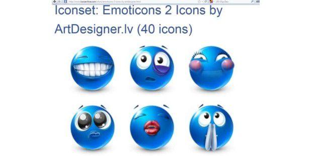 66 wundersch ne desktop icon packs pc welt. Black Bedroom Furniture Sets. Home Design Ideas